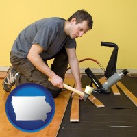 iowa a hardwood flooring installer