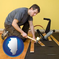 illinois a hardwood flooring installer